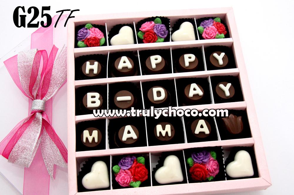 Kado Ultah Untuk Mama Trulychoco Handmade Chocolate