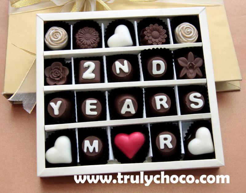 Kado handmade untuk anniversary trulychoco handmade chocolate