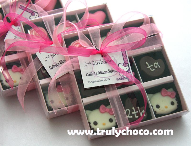 Suvenir ultah anak tema Hello Kitty (B9n 3hk)