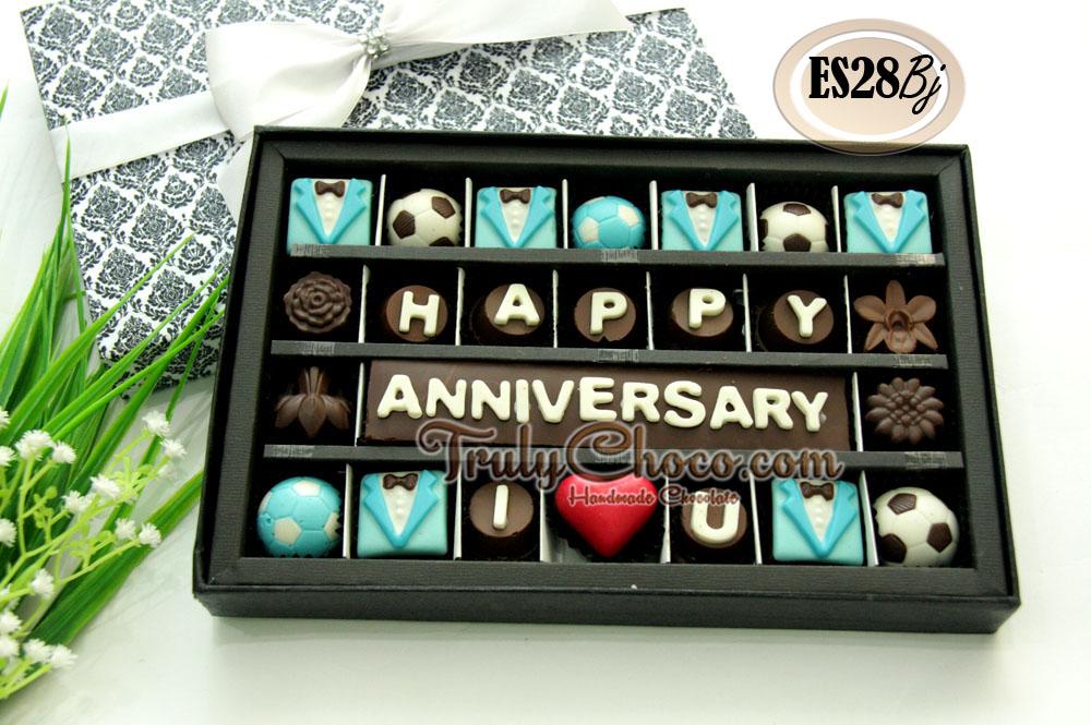 Kado anniversary untuk pacar trulychoco handmade chocolate
