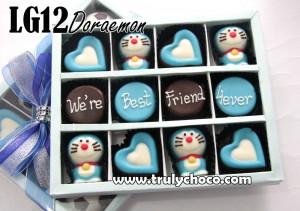 G&B G12 Doraemon: Paket chocogift isi 12pcs dan choco bouquet , Rp. 162.000 (hanya ada tutup mika) ...
