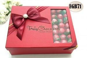 cokelat cantik untuk hantaran